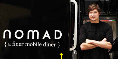 Nomad is two NAIT culinary guys, chef/ proprietor Mike Scorgie and Allan Suddaby