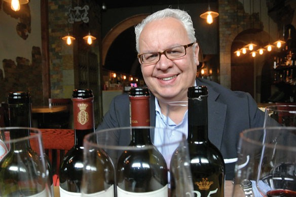 Allessandro Lunardi at The Wine Room