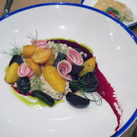 Workshop Eatery's beet salad