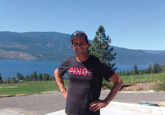 Grant Stanley of 50th Parallel Estate Winery