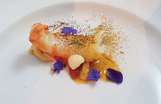 Chef Eric Hanson's Gold Medal dish