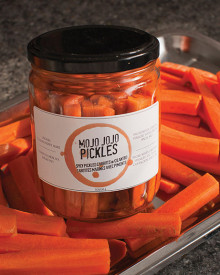 Mojo Jojo's pickled carrots
