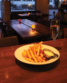 The Marc's pommes frites with truffled mayo